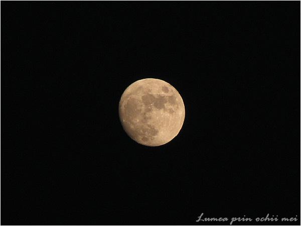 Luna de pe cer